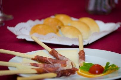 Jamón ibérico y queso manchego